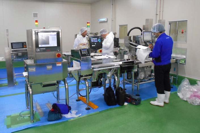 食品工場の営繕・設備保全